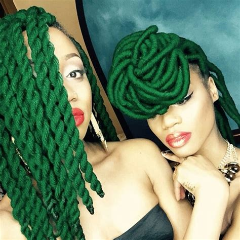 hair style with color yarn protective hairstyles for natural hair hergivenhair