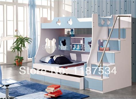 children furniture sets  drawers bunk bed double