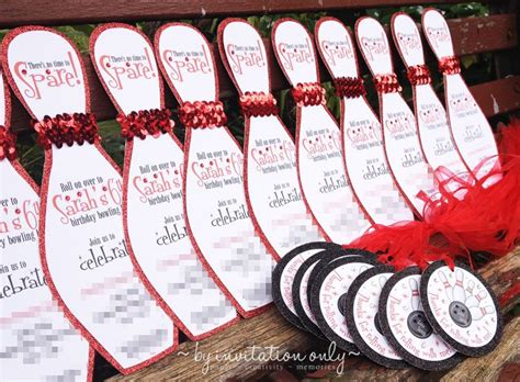 diy bowling favors 17 best images about b day ideas on