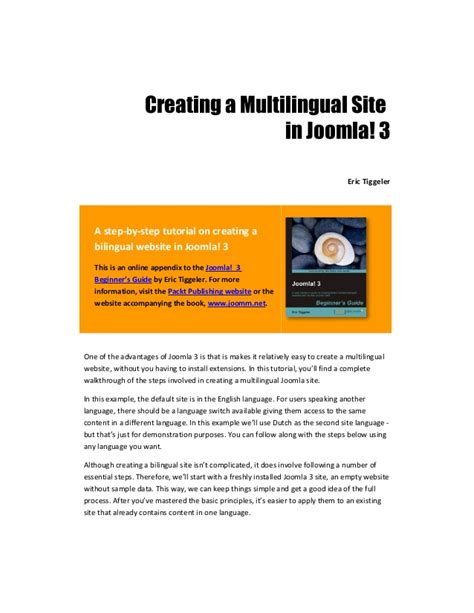 tutorial joomla 3 3 indonesia pdf creating a multilingual site in joomla 3 joomla 3
