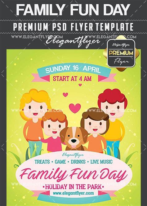 family day flyer template family day flyer template