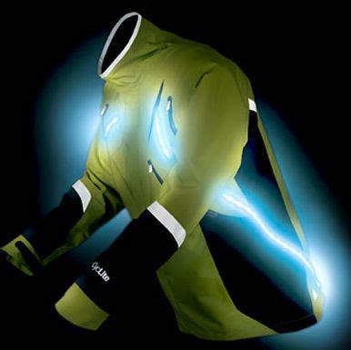 night running lights for joggers stridelite jacket strobes for night running
