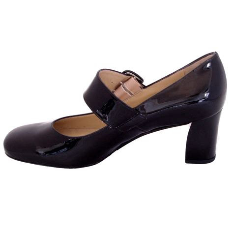 janes shoes kaiser pepito janes in black patent mid