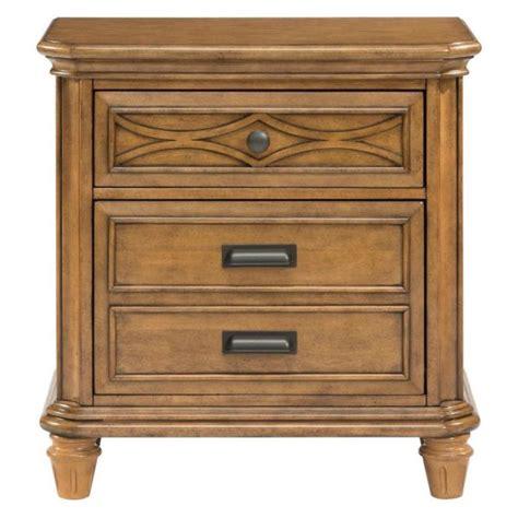 Honey Nightstand by Honey Oak Nightstand To Complete An Bedroom Decor