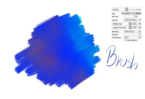 paint tool sai acrylic brush 12 paint tool sai brush acrylic brush by catbrushes on