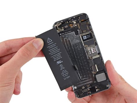 how to replace the battery in your iphone 5s ifixit repair guide
