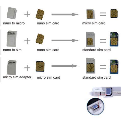 How To Convert Sim Card To Micro Sim Template by 10 Set Nano Sim Card To Micro Standard Card Converter
