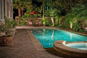 beautiful landscaping small backyards with pools