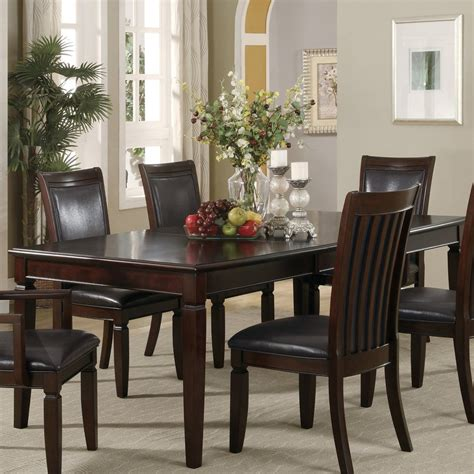 Coaster Dining Room Sets Shop Coaster Furniture Ramona Wood Extending Dining Tabl On Coaster Fattori Counter Height