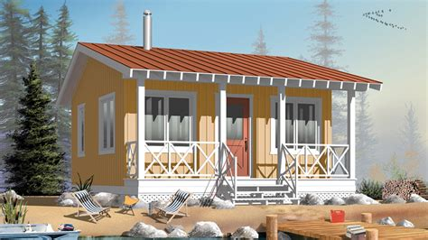 1 Room House by 1 Bedroom Home Plans One Bedroom Home Designs From
