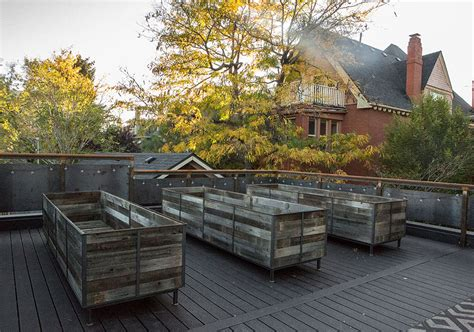 Roof Top Planters by Rooftop Planters In Denver Custom By Rushton Llc