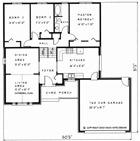 back split house plans 3 bedroom backsplit house plan bs101 1345 sq feet