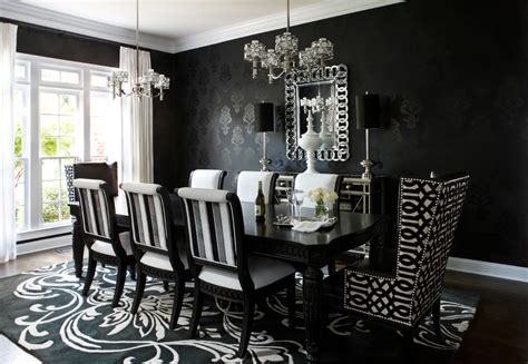 modern dining room table decorating ideas trellischicago