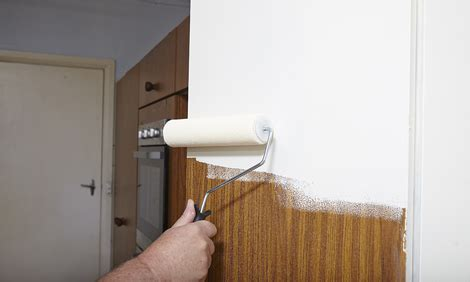 How To Paint Veneer Kitchen Cabinets How To Paint Laminate Kitchen Cabinets Bunnings Warehouse