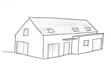 dessiner une maison maison moderne