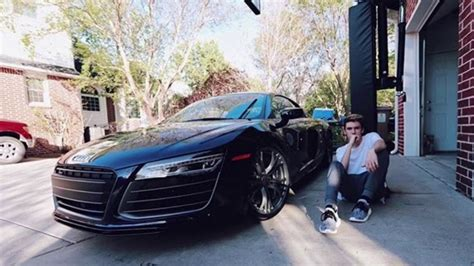 audi r8 tanner tanner braungardt audi r8 at 16 youtube