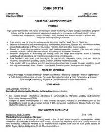 Advertising Asst Sle Resume by The World S Catalog Of Ideas