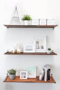 easy shelves to make a dozen creative ways to make your own shelves brit co