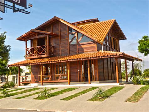 casa de modelos de casas de madeira pr 233 fabricadas prontas