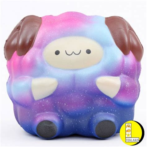 Koleksi Terlaris Galaxy Arms Set 1 jual laris terlaris squishy domba galaxy squishy pat pat