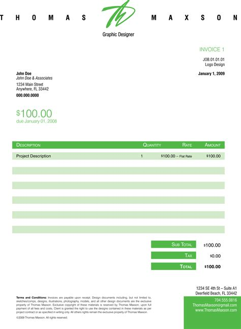 Layout Invoice Template | design invoice templates free invoice template
