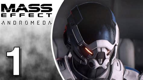 Kaset Ps4 Mass Effect Andromeda mass effect andromeda ps4 gameplay walkthrough let s play part 1