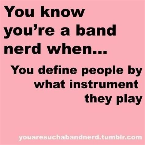 Band Geek Meme - section stereotypes because i m in band pinterest