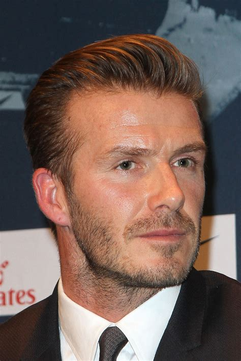 germain men hairstyle david beckham signs for paris saint germain pictures