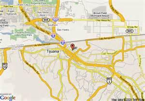 Tijuana Mexico Map by Map Of Hotel Lucerna Tijuana Tijuana