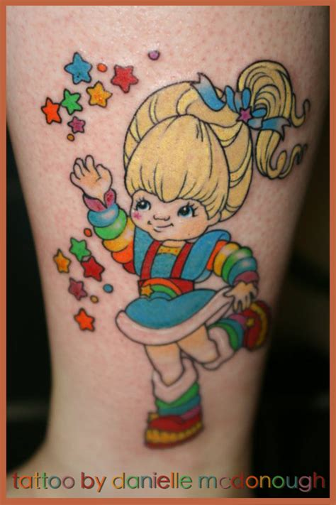 rainbow brite tattoo 05 17 2011 rainbow bright by koanodan on deviantart