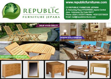 Republic Furniture cv republic furniture jepara central java directory of
