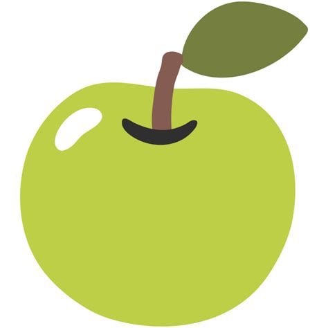 apple emoji file emoji u1f34f svg wikimedia commons