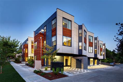medium density housing on social housing
