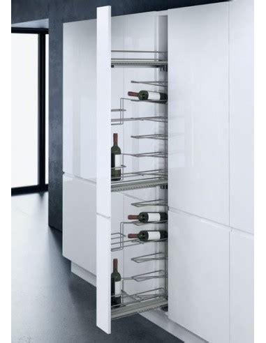 mm tall narrow pull  larder system  wine storage