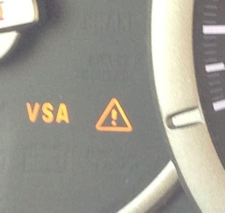 2006 honda pilot brake l indicator 2006 honda odyssey vsa warning light stays on