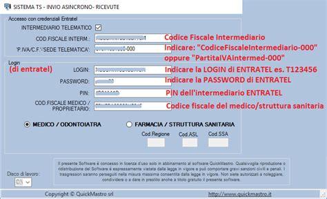 codice sede entratel 3 invio file xml