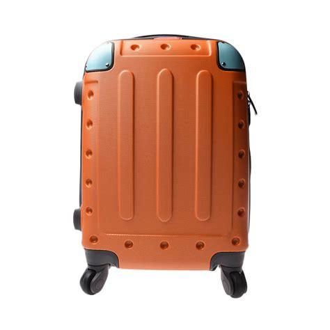 Troly Bag 4 Roda 18inch jual orentina pol koper orange 18 inch harga