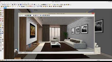 tutorial para vray sketchup 8 curso ead sketchup vray aula retangular light youtube