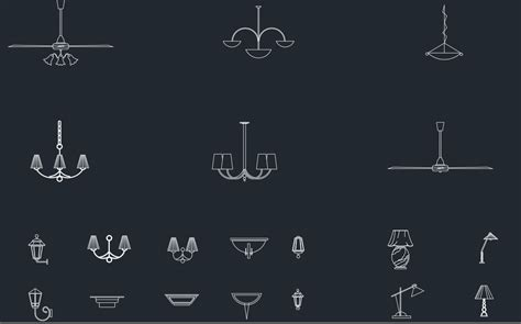 Chandelier Cad Block Chandeliers Free Cad Block And Autocad Drawing