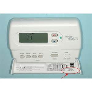 white rodgers programmable digital thermostats model 1f88