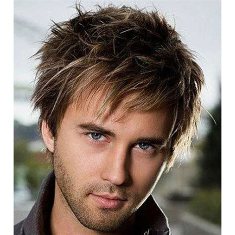 high quality hair dye for men top quality short straight beautiful color synthetic hair