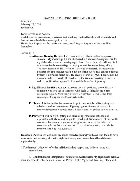 Sle Of Persuasive Speech On Organ Donation page 1 zoom in argument essay exles outline