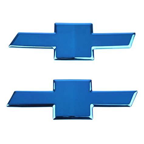 compare price  blue chevy bowtie grille emblem tragerlawbiz
