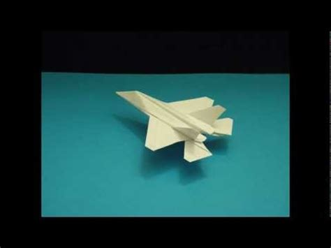 Origami Jets That Fly - flyable origami f 35 lightning by ken hmoob cp