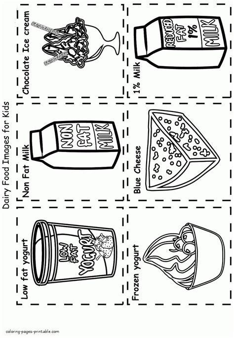 milk food coloring healthy food coloring book dairy