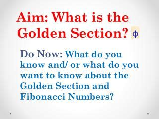 What Is The Golden Section by Ppt Golden Section Search Method Powerpoint Presentation