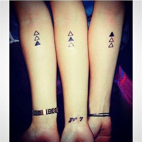 friendship tattoo quiz triple threat super cute matching tattoo ideas for you