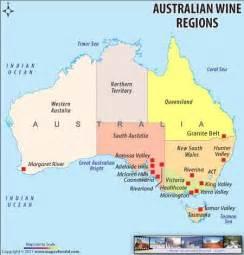 regional map of australia australia wine regions map