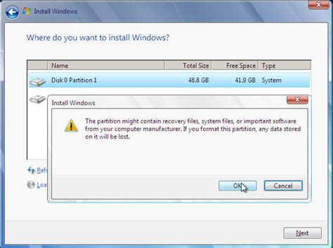 drive windows 7 ultimate reinstall and format of windows 7 ultimate