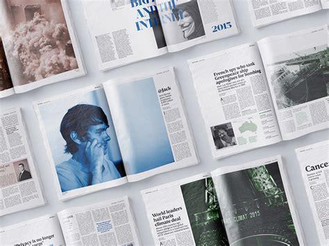 magazine layout breakdown 20 creative newspaper layout designs exles best blog
